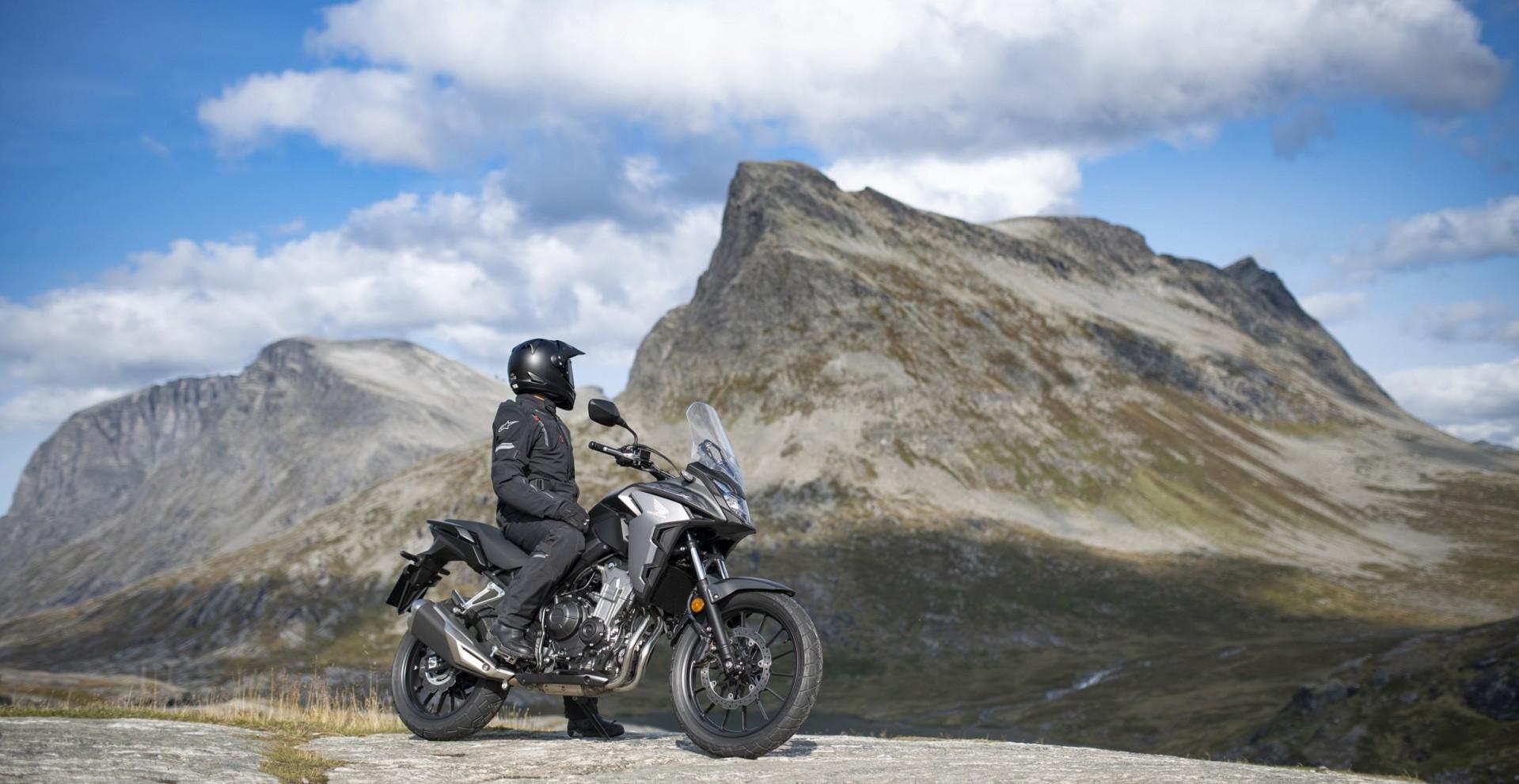 CB500X : le trail affirme ses capacités off-road avec une roue avant de 19 pouces